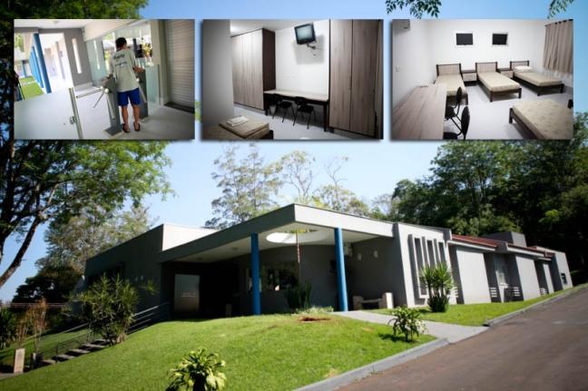 Alojamentos do CT do Londrina: parceira que vai consolidando-se